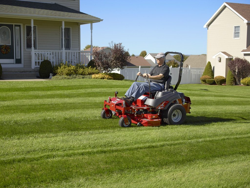 Mowing A New Design Stone